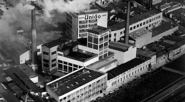 Vista aérea na década de 60