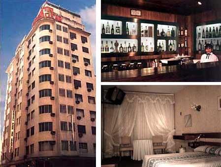 O hotel em meados da década de 80.