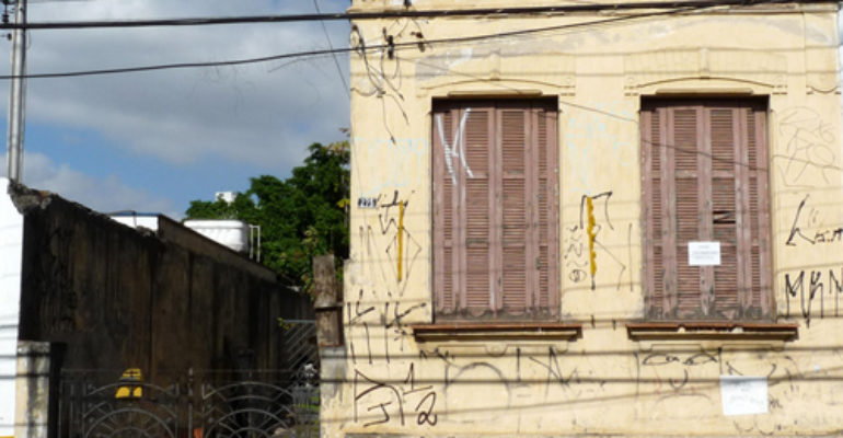 Casa Demolida – Rua Afonso Sardinha, 275