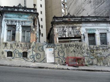 Casas de 1905 (demolidas) – Rua Asdrúbal do Nascimento