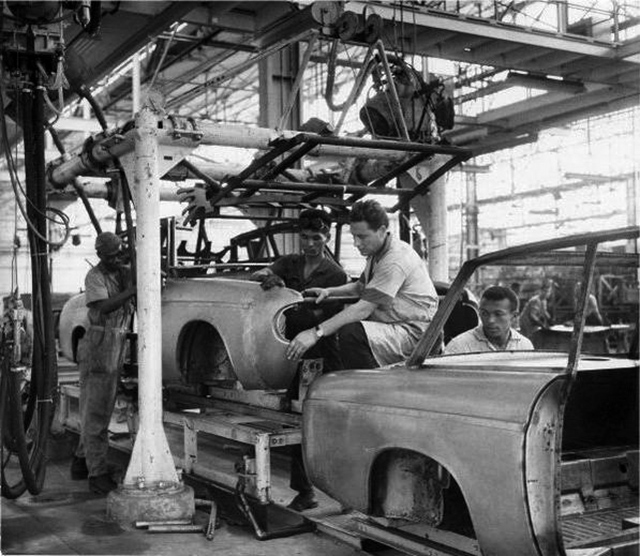 Linha de montagem da DKW/Vemag