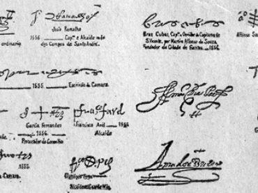 Assinaturas famosas da história de São Paulo