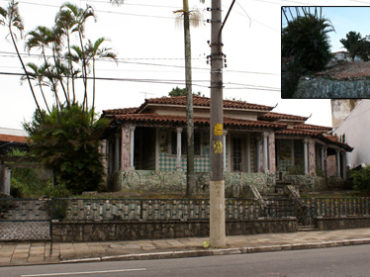 Casarão Demolido – Avenida Dr. Eduardo Cotching, 549