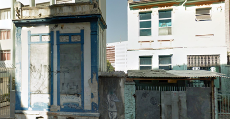 Casa Demolida – Rua Dr. Siqueira Campos, 192