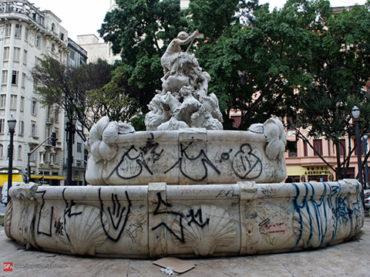 O monumento que a Prefeitura de São Paulo abandonou