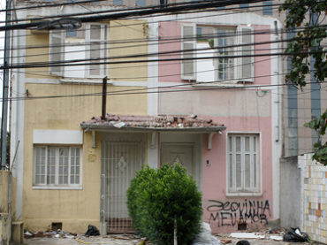 Quarteirão Demolido – Rua Dr. Amâncio de Carvalho