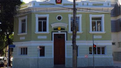Antiga garagem da Prefeitura / atual COPOM