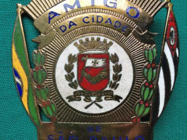 Souvenires Paulistanos 2 – Distintivo Amigo da Cidade de São Paulo