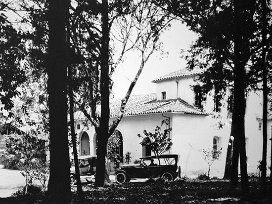 Sítio Morrinhos na década de 20 (clique na foto para ampliar).