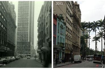 Rua Benjamin Constant 1973 & 2013