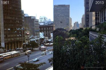 Vale do Anhangabau – 1961 & 2013