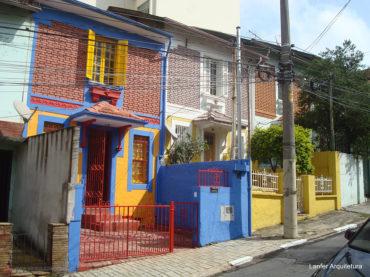 Casa restaurada na Bela Vista