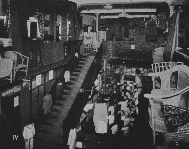 Vista parcial do interior da loja (clique para ampliar).
