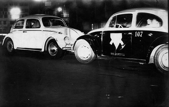Viatura fotografada durante uma ocorrência policial (clique para ampliar).