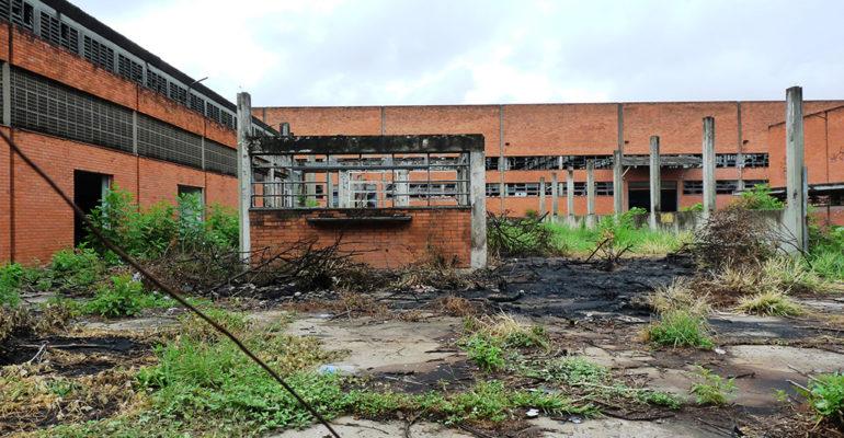 A antiga fábrica da Estrela