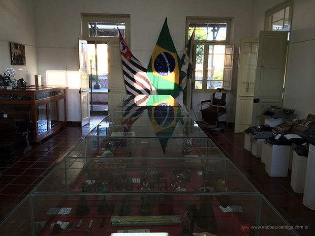 Vista parcial do museu (clique na foto para ampliar).