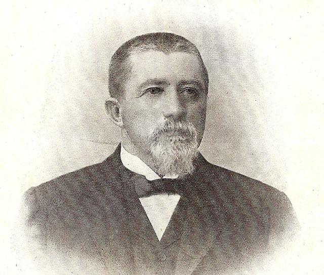 Coronel Schmidt em fotografia de 1911 (clique na foto para ampliar).