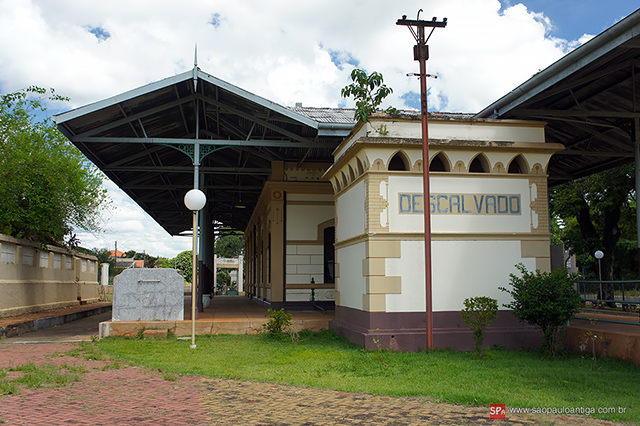 Estação de Descalvado atualmente (clique na foto para ampliar).