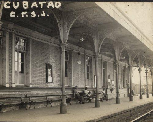 Estação de Cubatão em 1967