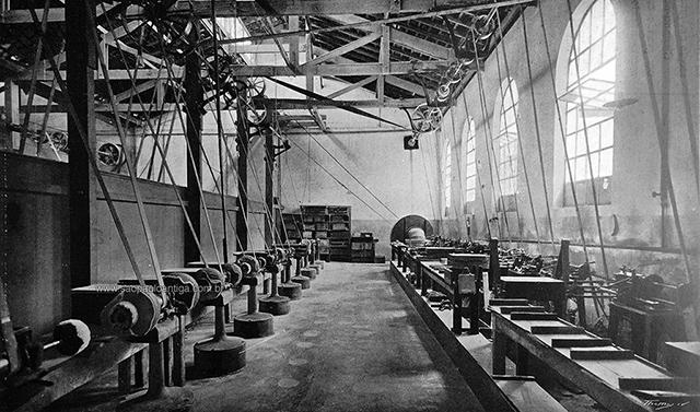 Área de produção de pentes (clique para ampliar)
