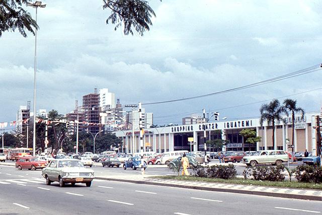 Shopping Iguatemi em 1971 (clique na foto para ampliar).