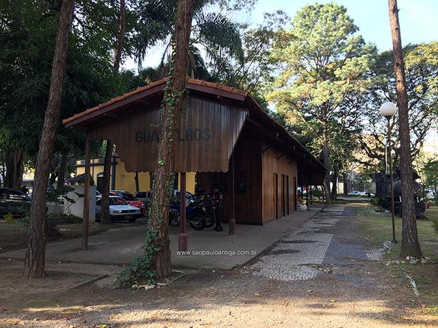 Vista atual da Estação Guarulhos (clique para ampliar).