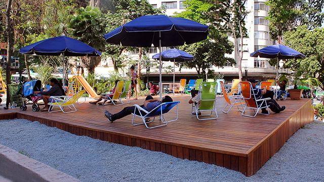 Largo do Paissandú (crédito: SMDU)