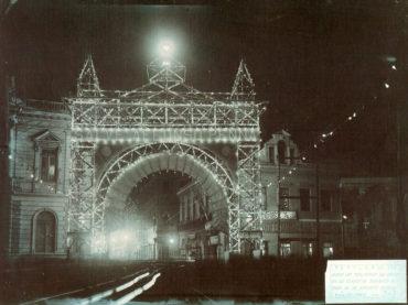 O Arco do Triunfo de 1908
