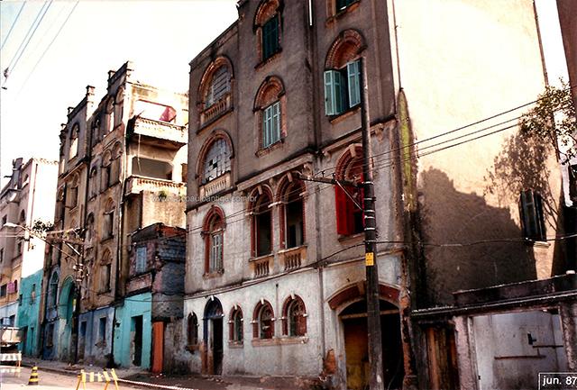 Rua da Assembleia em 1987 (clique na foto para ampliar)