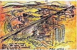 Le Corbusier e o plano diretor para São Paulo que não foi concretizado.