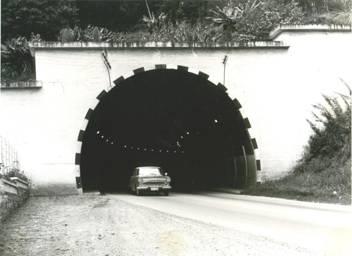 Tunel da Mata Fria em 1963