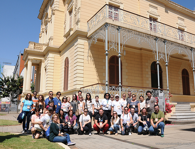 No Museu da Energia, a foto oficial com nossos participantes