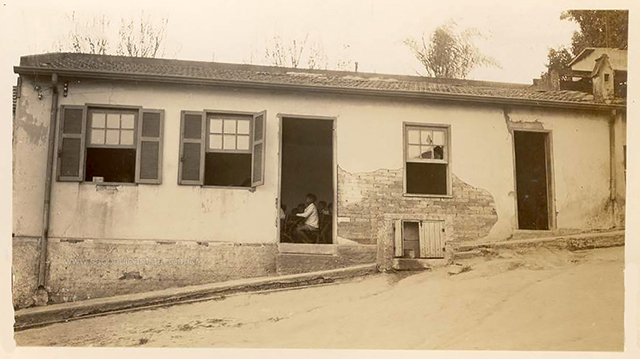 Grupo Escolar Barão Homem de Mello em 1945 (clique para ampliar)