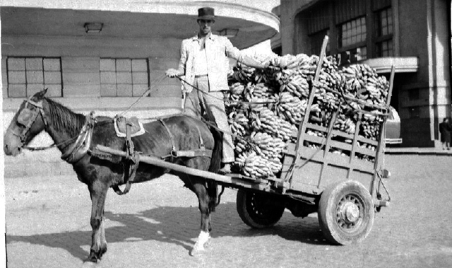 Vendedor de Bananas - Década de 30 (clique na foto para ampliar)