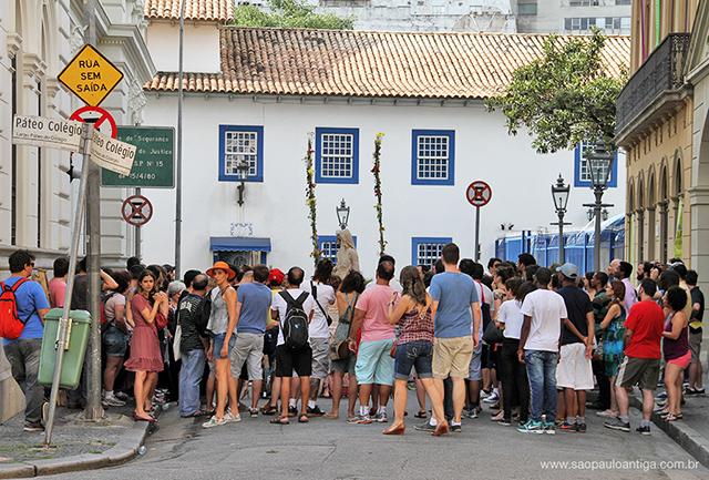 Centro de São Paulo teve muitas ruas cheias e eventos concorridos (clique para ampliar)