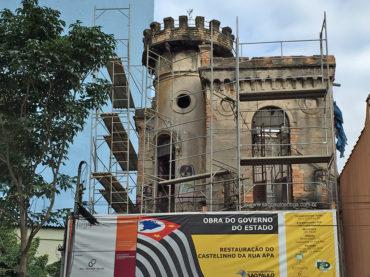Restauro do Castelinho da Rua Apa sai do papel