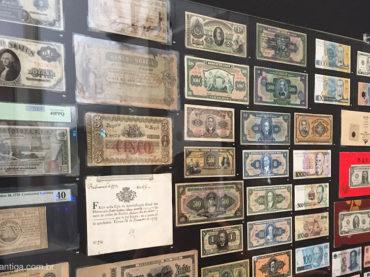 Bovespa recebe exposição de moedas raras