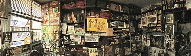 O escritório de Milton Bednarski, em São Paulo (2014)