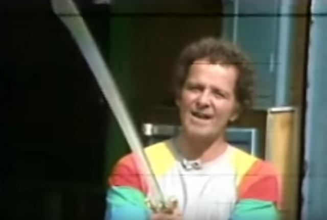 Goulart de Andrade ainda na TV Globo, em programa de 1979
