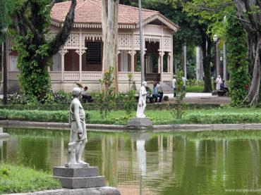 Esculturas do Parque da Luz desapareceram