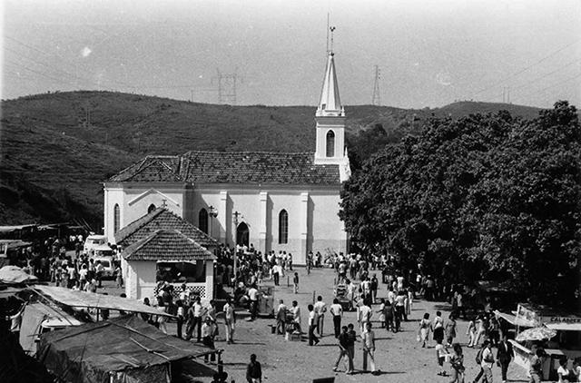 Santuário Santa Cabeça na década de 1970 (clique para ampliar)