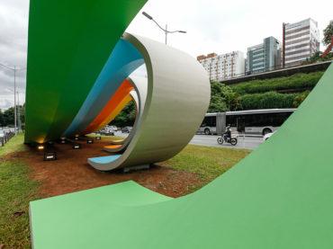 Monumento aos 80 Anos da Imigração Japonesa é restaurado