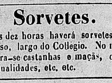 Quando o sorvete surgiu em São Paulo ?