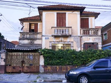 As casas antigas da Rua Dr. Silva Leme
