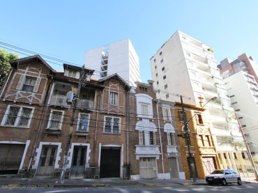 Casas Antigas da Rua Dr. Alfredo Ellis