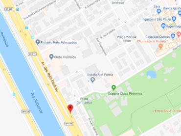 Rua Hungria tem seu nome alterado
