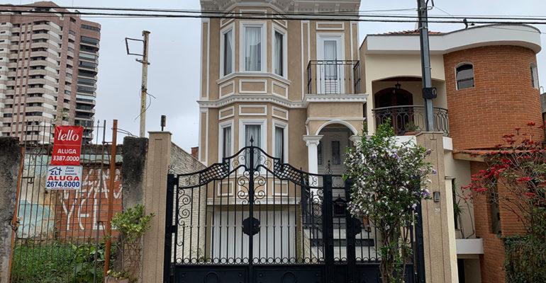 A casa vitoriana da Rua Nagib Izar