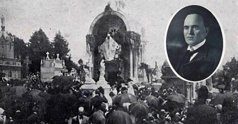 O funeral do Conde Alexandre Siciliano