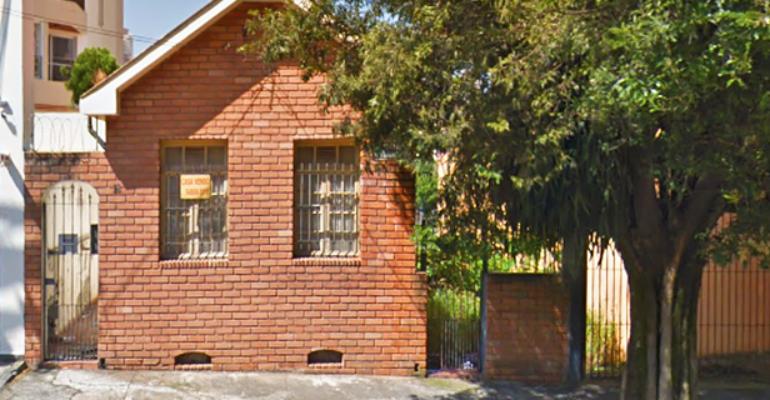 Casa Demolida – Rua Dr José Maria de Azevedo