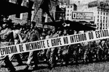 O surto de gripe em São Paulo no ano de 1945